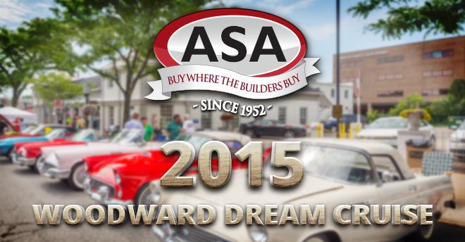 ASA Woodward Dream Cruise 2015