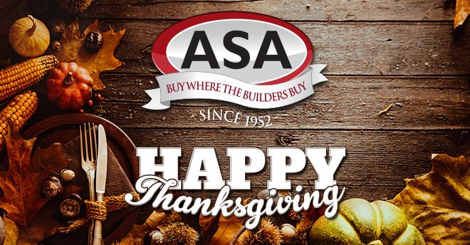 ASA Thanksgiving 2015