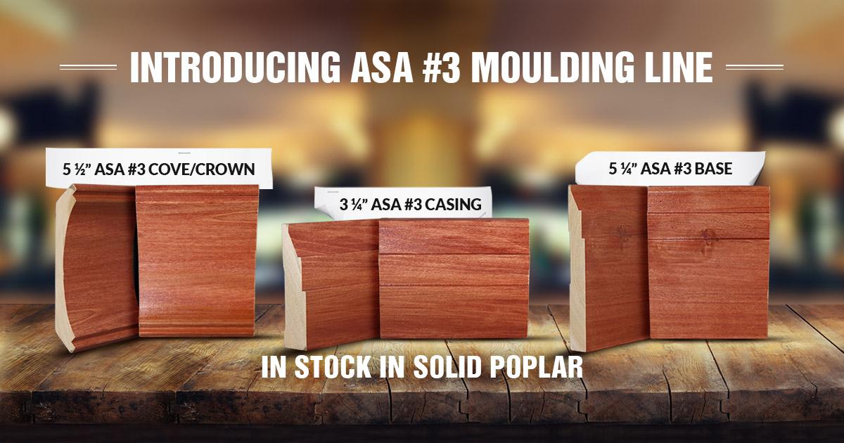 ASA Builders #3 Moulding