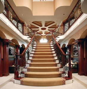 Beautiful Custom Stair Builders Design