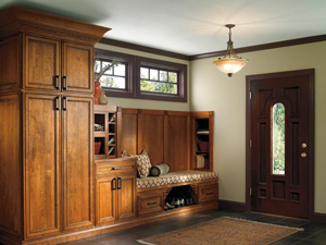 Entryway Cabinetry