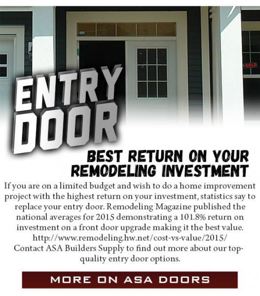 ASA-Cabinets-Builders-Supply-March-2015-Newsletter-Entry-Door