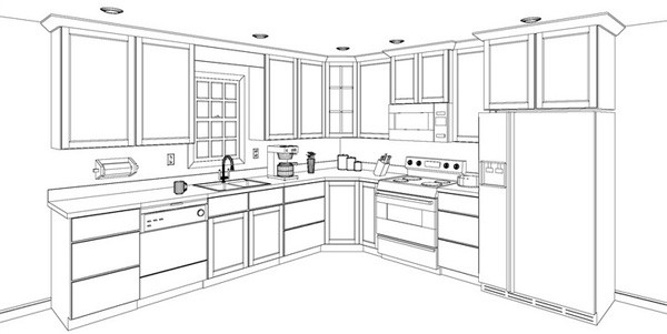 Asa provides 3d design to envision your kitchen asa Easy drawing software