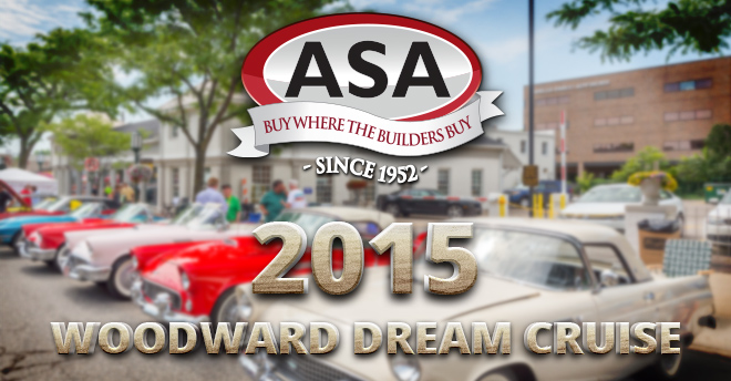 ASA Woodward Dream Cruise 2015