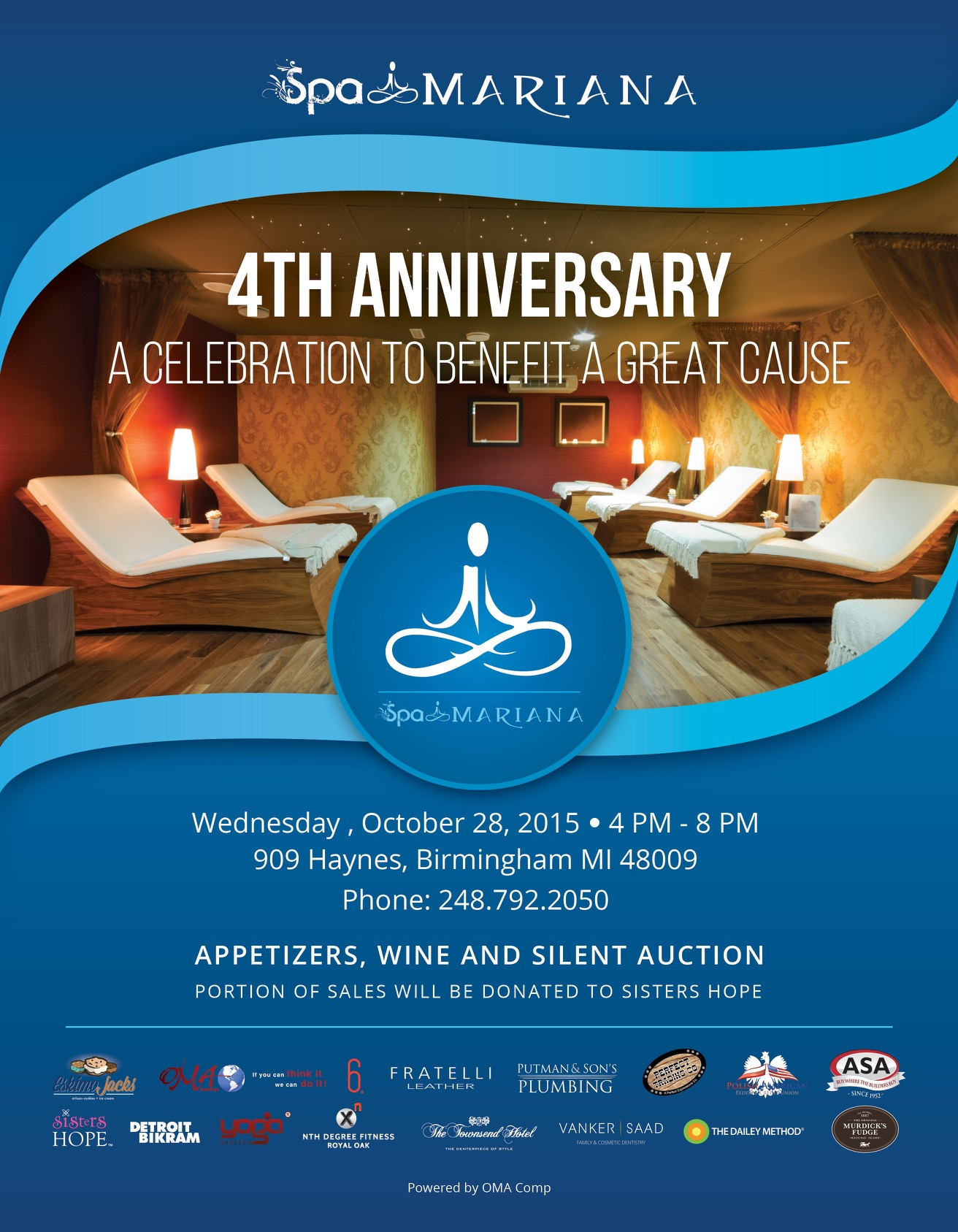 Spa Mariana 4th Anniversary 2015