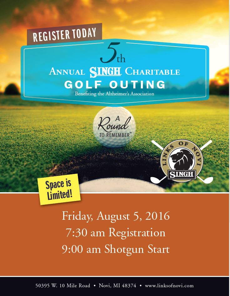 ASA Singh Golf Charitable Event 2016