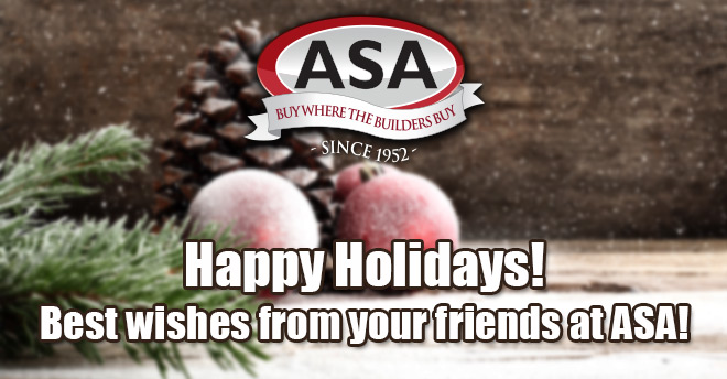 ASA Holidays 2016