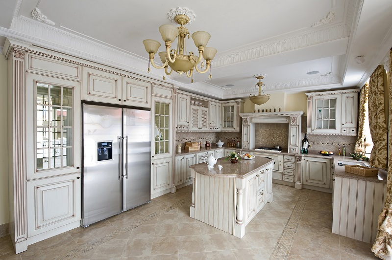 ASA Cabinets Contemporary Meets Traditional Kitchen