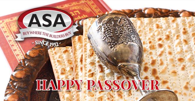 ASA Passover 2018