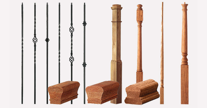 ASA Builders SALE LJ SMITH 1 KNUCKLE Balusters